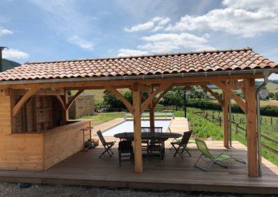 Abris de jardin-Art en bois à Belmont de la Loire