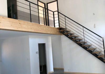 Escalier-Aménagement intérieur dans Loire